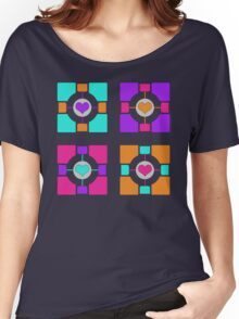 Companion Cubism Women's Relaxed Fit T-Shirt