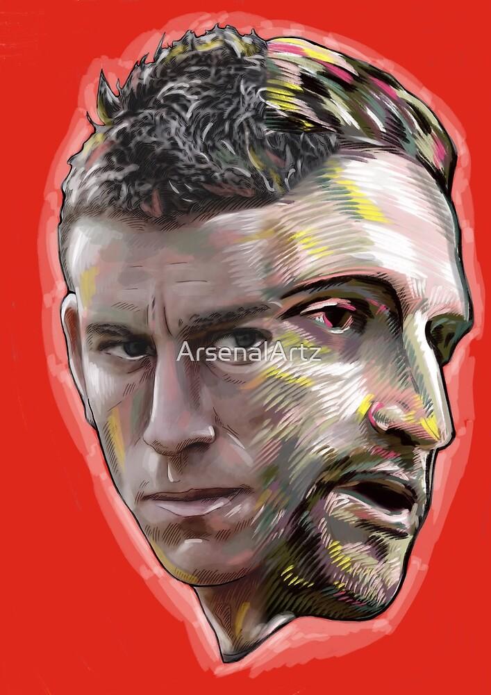 Arsenal Defence - Koscielny & Mustafi by ArsenalArtz