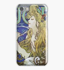 Alphonse Mucha - Job 1898  iPhone Case/Skin
