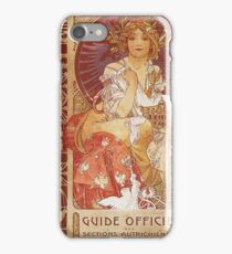 Alphonse Mucha - Guide Officiel Des Sections Autrichiennes De L Exposition Universelle De Paris iPhone Case/Skin