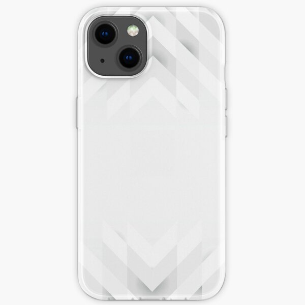 White cool and casual background iPhone Soft Case
