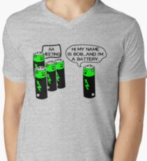 Aa battery meeting Men's V-Neck T-Shirt