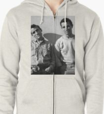 On The Road Zipped Hoodie