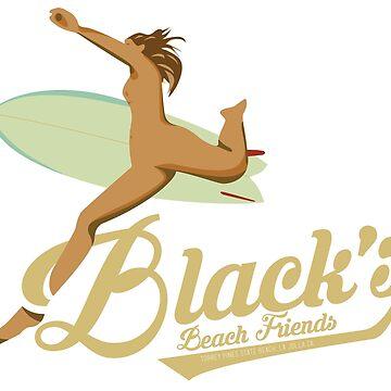 Black's Beach Friends by sharetheshore