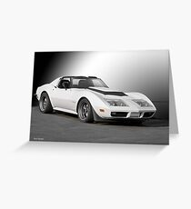 Chevrolet C3 Competition Corvette Greeting Card