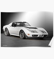 Chevrolet C3 Competition Corvette Poster