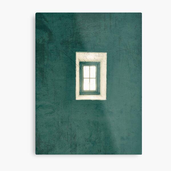 green wall  Metal Print