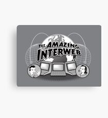 The Amazing Interweb Canvas Print