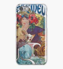 Alphonse Mucha - Bieres De La Meuse iPhone Case/Skin