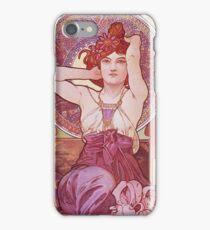 Alphonse Mucha - Amethysteamethyst iPhone Case/Skin