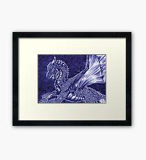 Saphira Framed Print