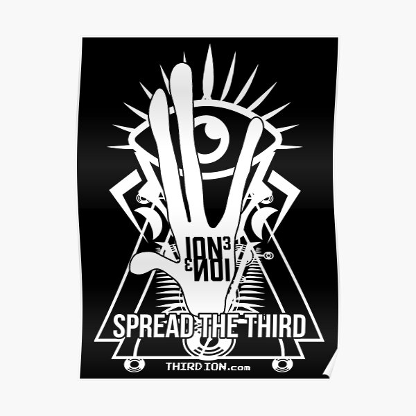 Third Ion -  Spread The Third Poster
