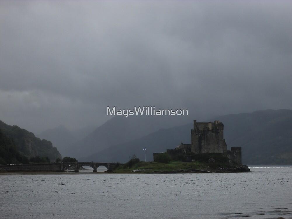 Eilean Donan Castle, Scotland by MagsWilliamson