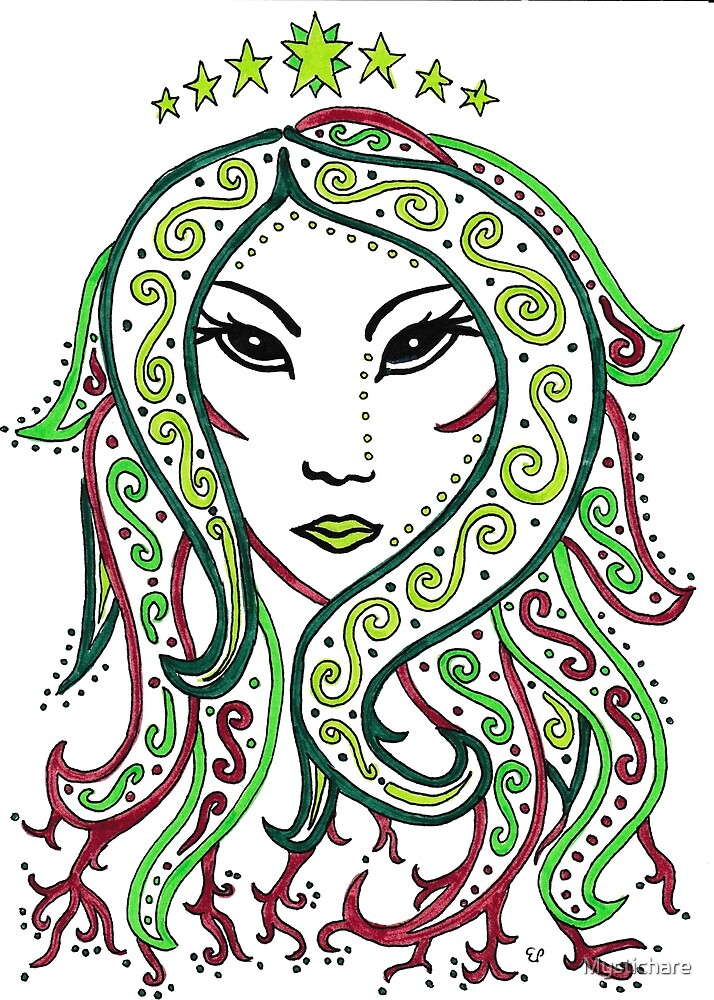 Virgo the Virgin by Mystichare