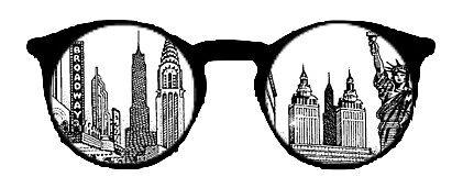 New York Skyline Glasses by Sarahwasson13