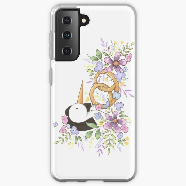 All you need is love and a yummy pretzel Samsung Galaxy Soft Case