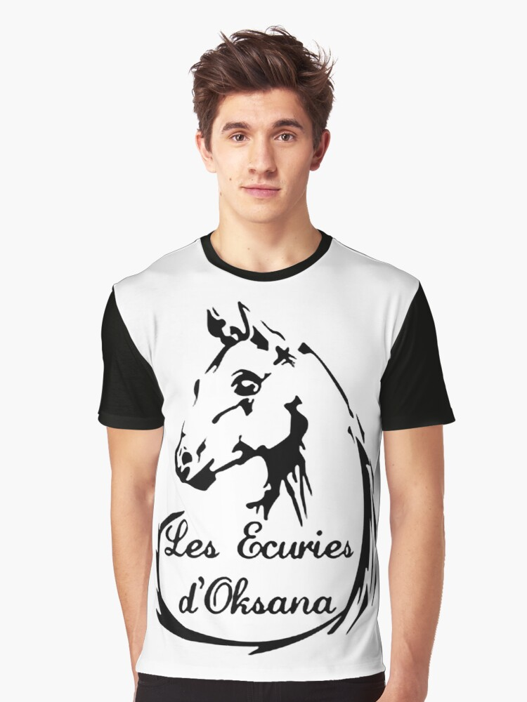 The stables of Oksana Graphic T-Shirt Front