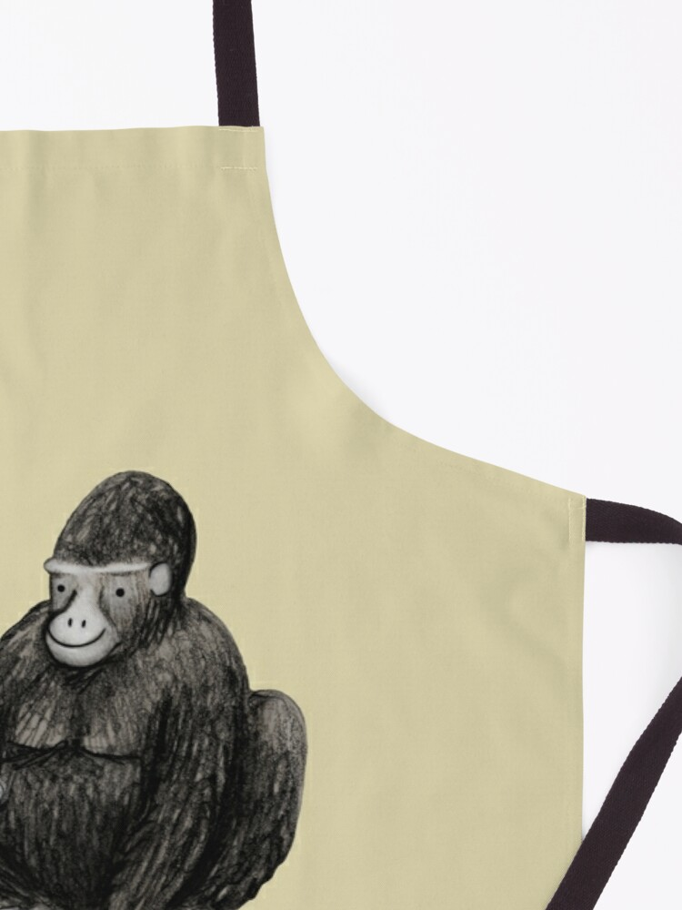 Alternate view of Grilla Apron