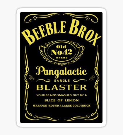 Pan Galactic Gargle Blaster Sticker