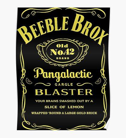 Pan Galactic Gargle Blaster Poster