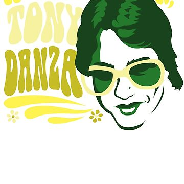 Hold Me Closer, Tony Danza - T-Shirt - Green by almostfearless