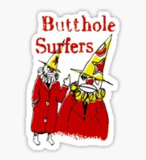 Butthole Surfers Clowns Sticker