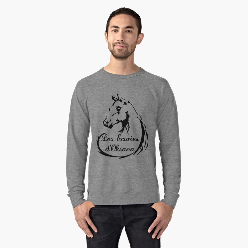 The stables of Oksana Lightweight Sweatshirt Front