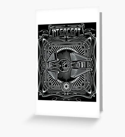 Intercept Greeting Card