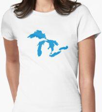 Great Lakes map T-Shirt