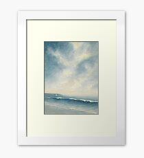 Sunset sea II Framed Print