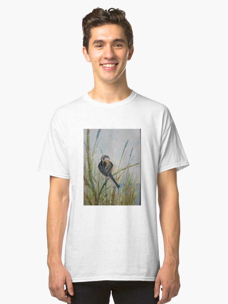 Long Tailed Tit Classic T-Shirt Front