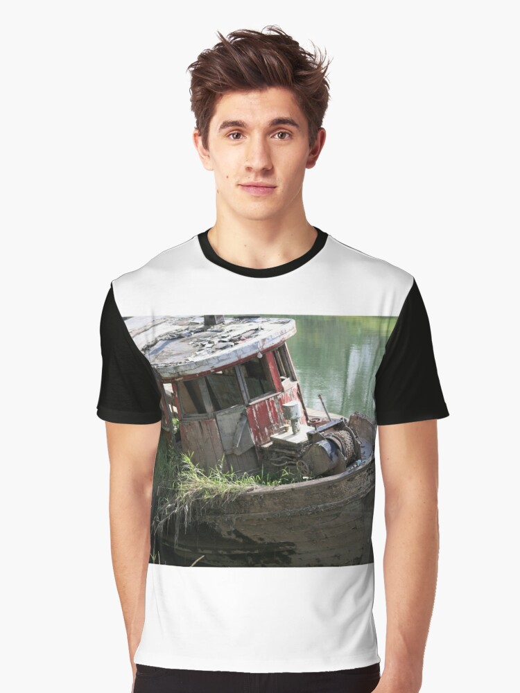 Washed Up Graphic T-Shirt Front
