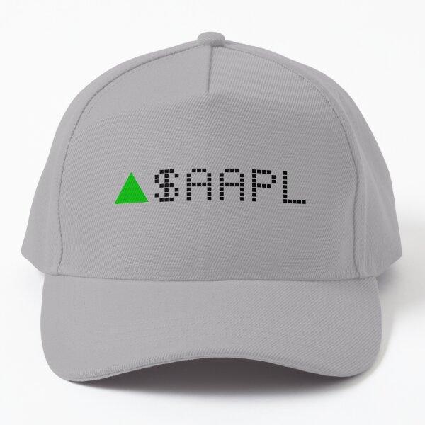 Apple Stock Ticker Green Baseball Cap