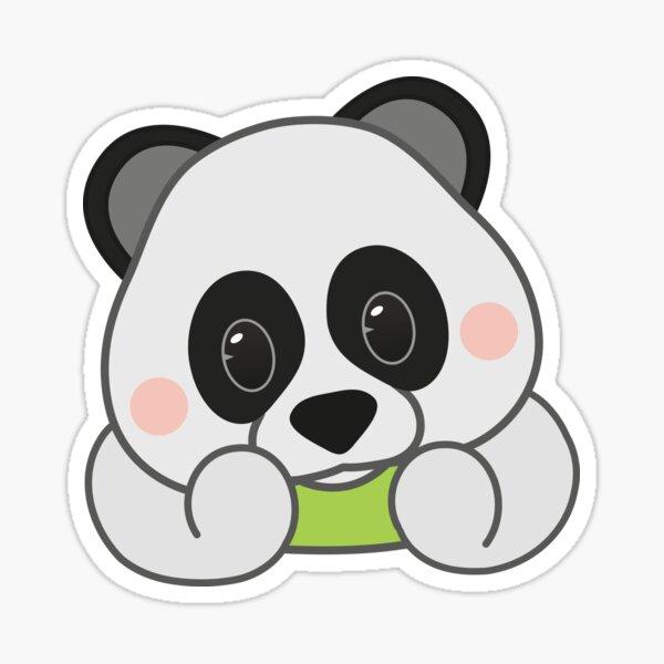 panda emoji fan art Sticker