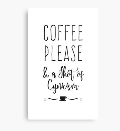Coffee Please Metal Print