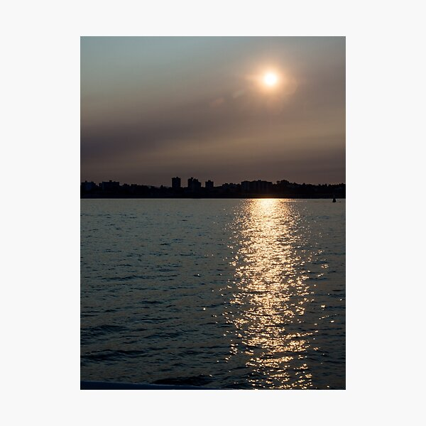 Sunrise Comes to Victoria Photographic Print