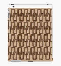Cork Links Masculine Pattern iPad Case/Skin