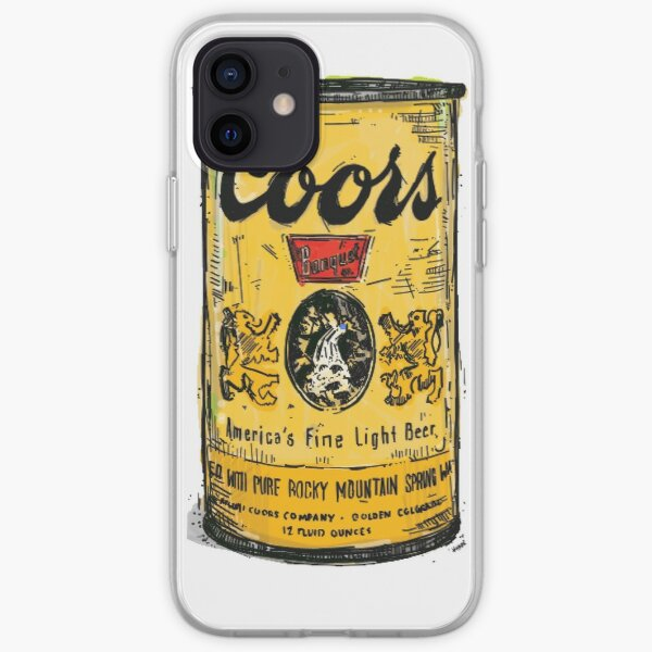 coors light can iPhone Soft Case