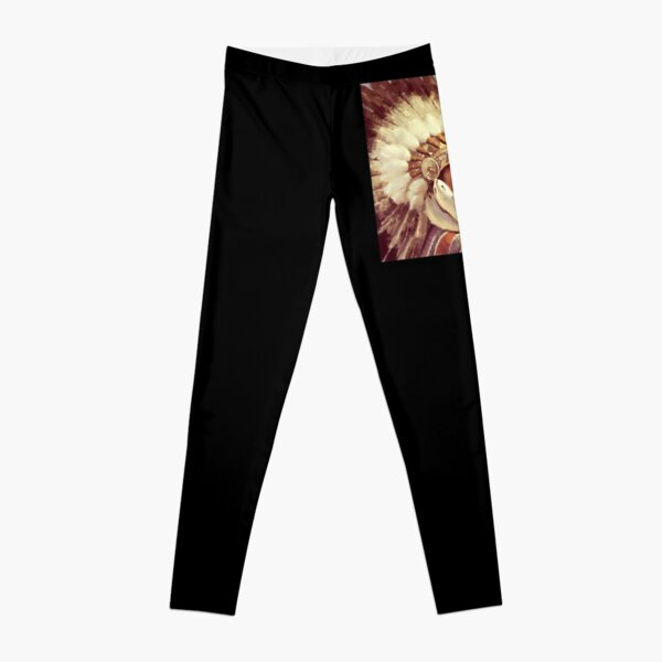 Indian Chief. Native, Tribe, American, Native American tribe, Indian, Head dress. Leggings