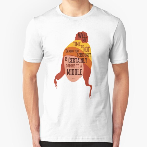 Coming To A Middle Slim Fit T-Shirt