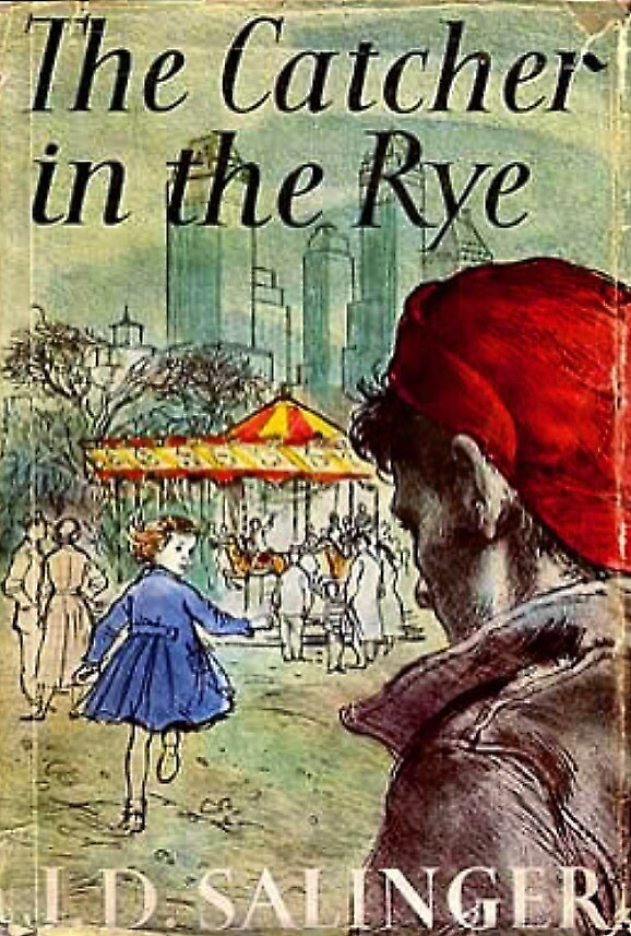 The Catcher in the Rye British First Edition Cover, Poster by futuremoore