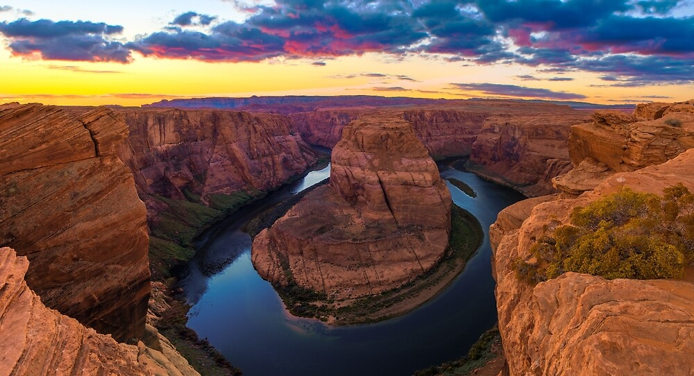 Nice Image of Horseshoe Bend by jose1983