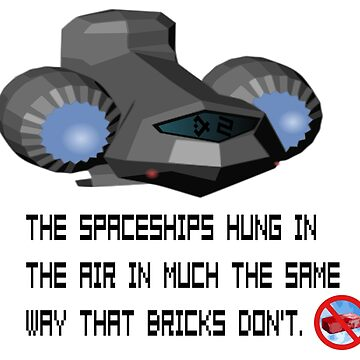 Spaceship=NOT like a Brick by CCsUniverse
