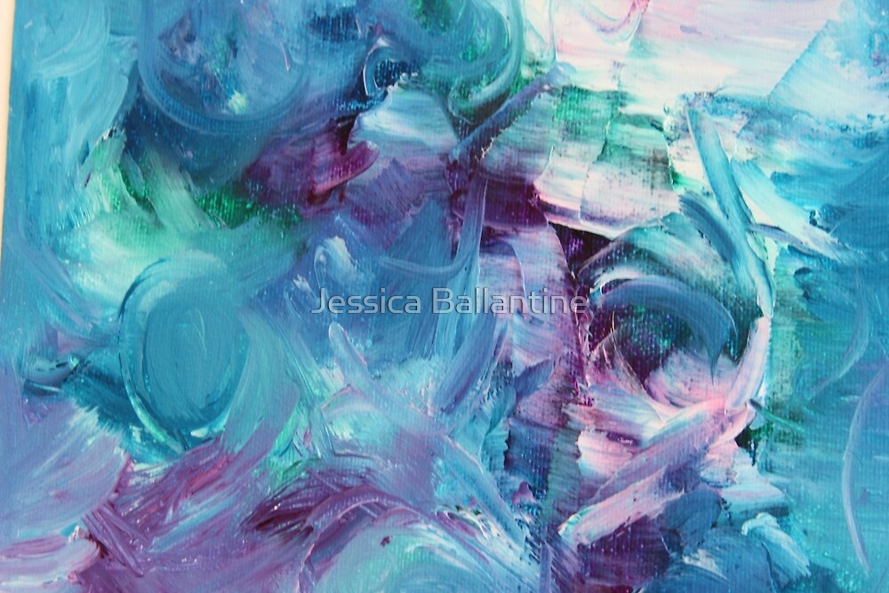 Purple Gesture by Jessica Ballantine