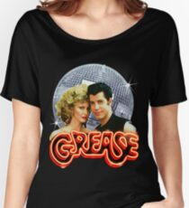 GREASE DISCO BALL Women's Relaxed Fit T-Shirt