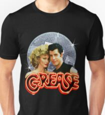 GREASE DISCO BALL Unisex T-Shirt
