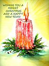 Christmas Candle by Linda Callaghan