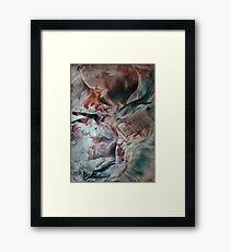 Inner logic sequenced life path remaining eclipsed Framed Print