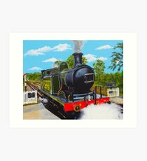 Southern Steam Art Print