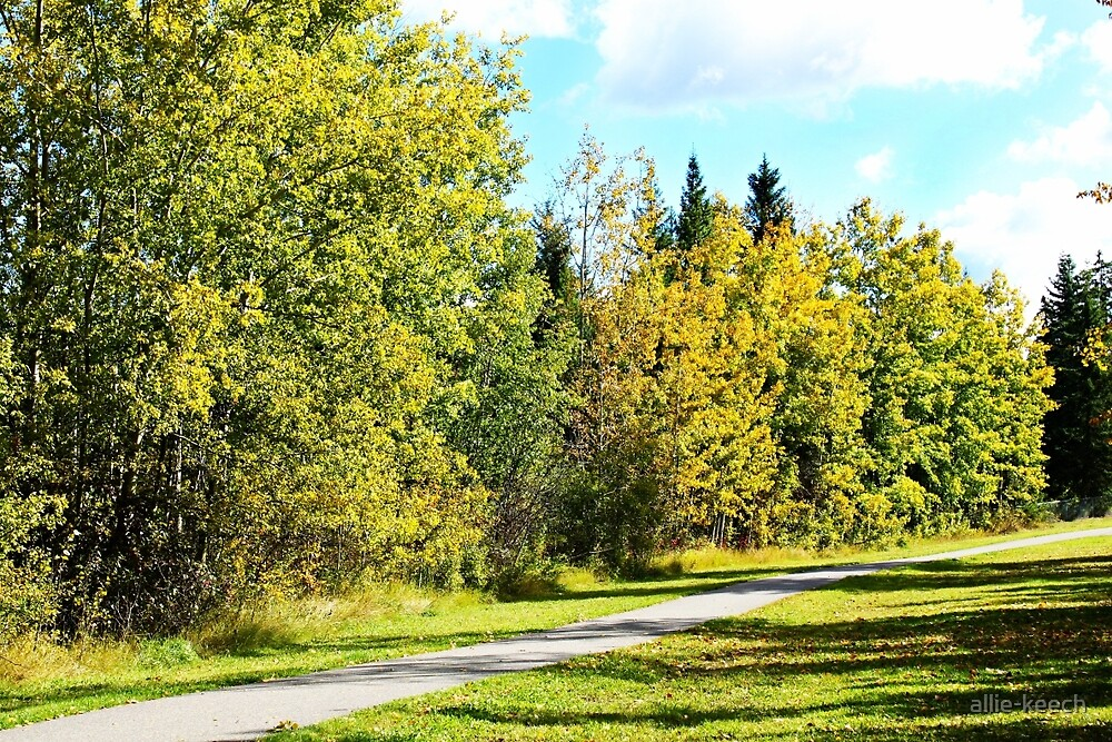 Autumn Stroll by allie-keech